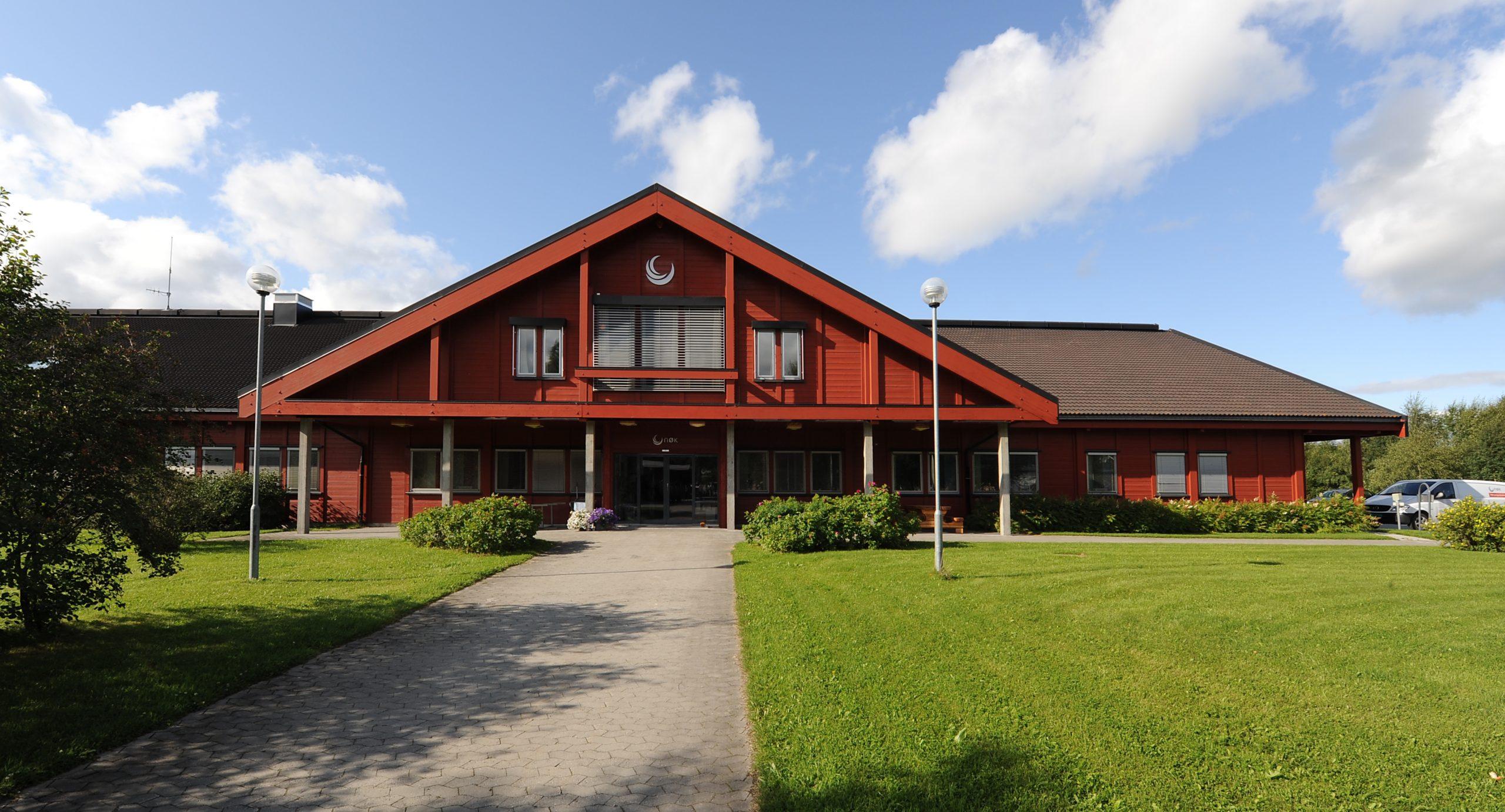 Kontorbygget til NØK i Tomtegata 8 på Tynset