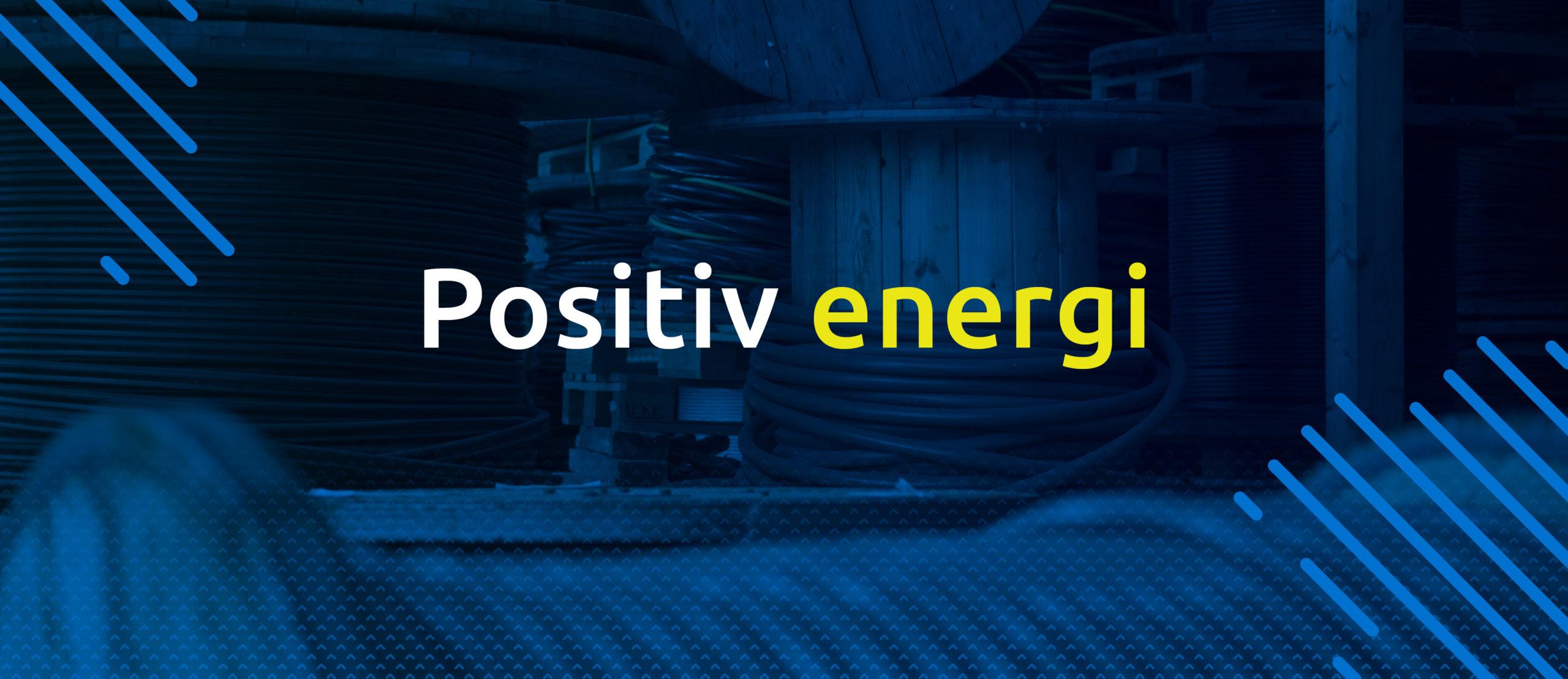 Positiv energi er NØK sitt slagord