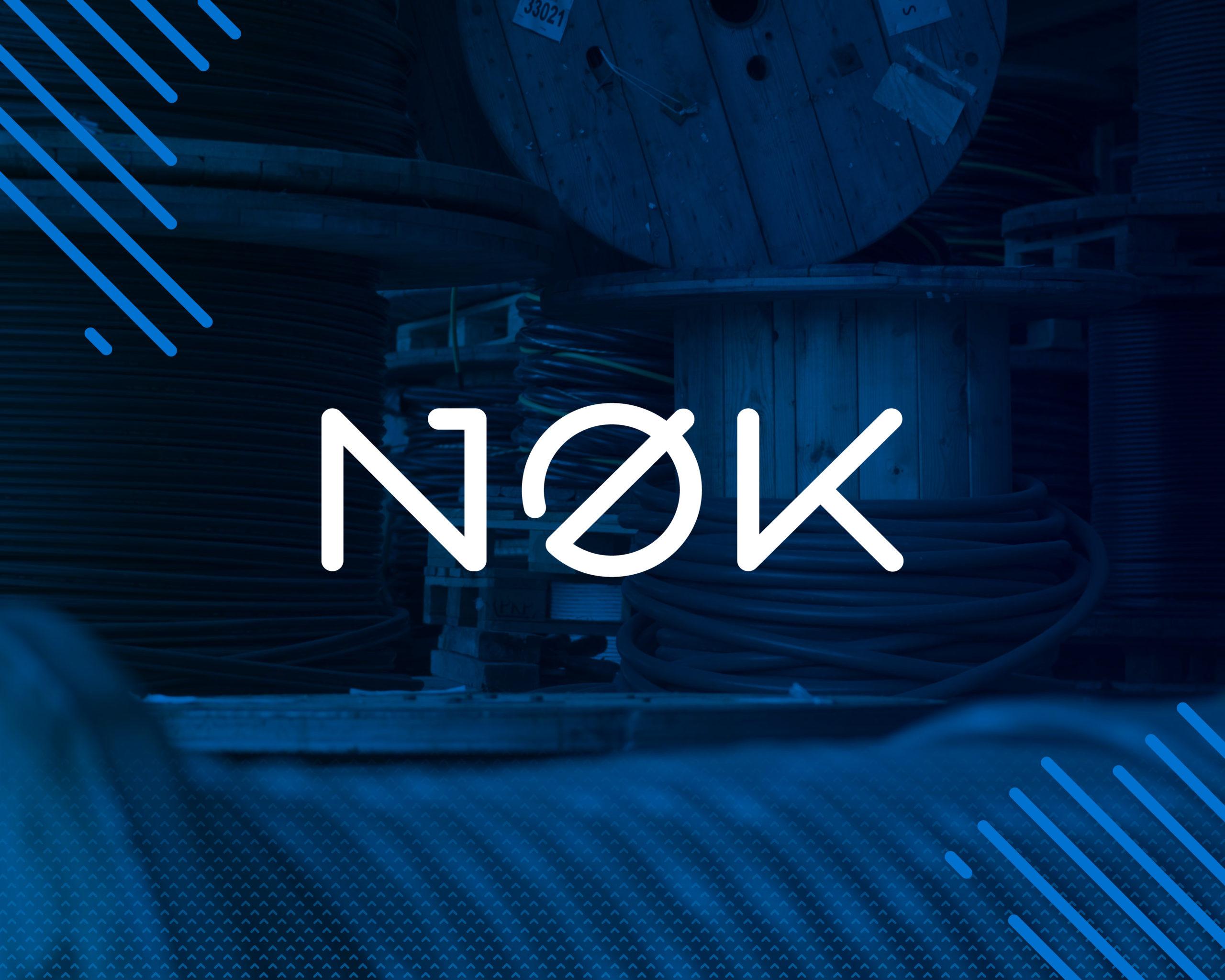 Bilde av ny NØK logo, lansert 1 juli 2021